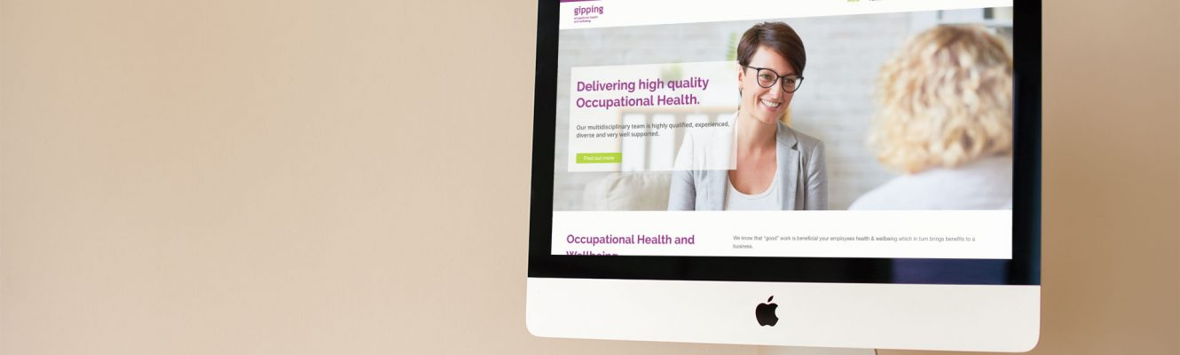 Gipping Occupational Health launch new website